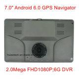 """Hot 7.0"""" Alquiler de carretilla Marine, navegación GPS con WINCE 6.0 dual a 800 MHz, transmisor de FM, AV de la Cámara de aparcamiento Sistema Navegador GPS Dispositivo de seguimiento, el Tmc"""