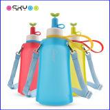 Sac d'eau pliable de silicones de course de sport en plein air pour des enfants et des adultes