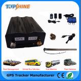 L'inseguitore di GPS dell'automobile con il video del combustibile e la voce ascoltano dentro