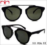 O plástico de estilo mais recente Senhoras óculos de sol com a decoração de Metal (WSP508308)