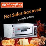 Heißer Verkaufs-Bäckerei-Geräten-Gas-Plattform-Pizza-Ofen im Fabrik-Preis