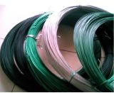 Alambre obligatorio del hierro revestido del PVC