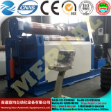 Rollo de lámina metálica 4 máquina laminadora/placa hidráulica máquina de doblado de rollo