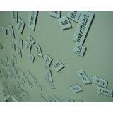 A poesia personalizada da etiqueta do refrigerador do produto exprime magnético