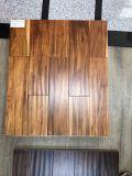 Nuez de oro de hoja corta diseñado Pisos de madera de acacia