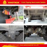 Производство с 2007 2 моста/мосты 20FT/ футов Полуприцепе опрокидывания самосвального кузова