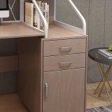 Escritorio de madera con cajón para estación de trabajo de oficina en casa