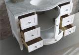 """48 """"白い光沢のある終わりを用いる浴室の虚栄心の家具"""