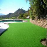 Искусственная трава для украшения гостиницы с высокой плотностью