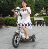 3개의 바퀴 성인을%s 의학 무능한 Foldable 전기 기동성 스쿠터