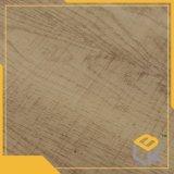 Papel impregnado melamina decorativa de madera del grano para los muebles, guardarropa del fabricante chino