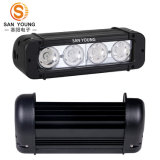 Light Bar LED Offroad 10W Crees Light Bar LED 4PCS * 10W Crees LED Chips Single Row 40W Spot Flood Combo Beam