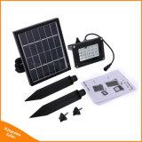 태양 투광램프 20 LED 정원 잔디밭 태양 강화된 플러드 빛