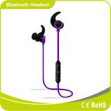 Fone de ouvido dinâmico de Bluetooth da em-Orelha de Smartphone do esporte do estéreo de Bluetooth 4.1