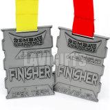 Medalla de encargo al por mayor de la dimensión de una variable del blindaje a partir de tres colores