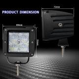 5Dオフロード極度の明るいサーチライト3inch 12W LED作業ライト