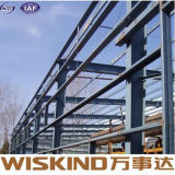 Costruzione prefabbricata della struttura d'acciaio con i materiali della trave di acciaio
