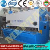 Машина плиты листа гидровлическая режа с управлением CNC