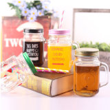 꿀 패킹, 마시기를 위한 유리제 찻잔을%s 주문을 받아서 만들어진 유리제 식품 보존병