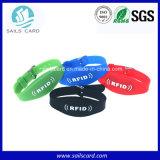 Wristband único superior da qualidade 13.56MHz RFID