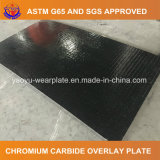 Hardfacing плита износа с верхним слоем карбида хромия