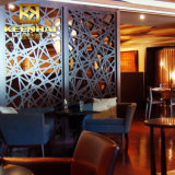 Divisorio decorativo dello schermo del divisorio del ristorante del metallo