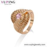 12211 anello fragile Gold-Plated dei monili 18K di modo con molti Zircons cubici