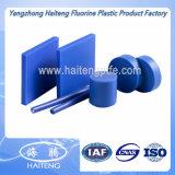 白く青いカラーナイロン棒、機械部品のためのPA6棒