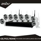 1080P 8CH Wi-Fi Wireless IP Camera NVR Kit CCTV Security Monitoring Camera