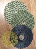 Le disque de découpage de fibre de verre pour des disques de coupure et des meules est fait en maille de fibre de verre