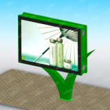 Quadro de avisos personalizado do Dobro-Lado do anúncio ao ar livre de potência solar