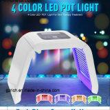 PDT luzes LED 4 Cores de fótons Cuidados Faciais máquinas de beleza