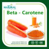 Betacaroteno vendedor caliente del buen ingrediente alimenticio confiable del surtidor