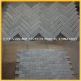 Telhas de mármore brancas baratas de Carrara, revestimento de mármore branco Polished de Carrara