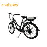 Preiswertestes 26 Zoll-elektrisches Stadt-Fahrrad mit Lithium-Batterie