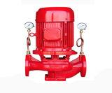Moteur diesel et entraînement du moteur de pompe à incendie en ligne