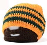 Los hombres de diseño creativo de lana tejida Barba Hat