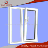 Doppeltes Glaskeller-Aluminiumfenster/Zufuhrbehälter-Fenster