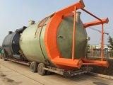 FRP GRP 섬유 유리 저장 탱크 Conatiner 배 반응기