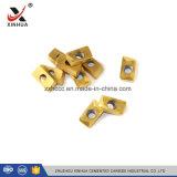 Вставки Apkt карбида филируя от изготовления Zhuzhou для филировать металла