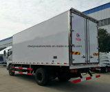 Dongfeng 6 바퀴에 의하여 냉장된 상자는 음식 10 톤 트럭을 상쾌하게 한다
