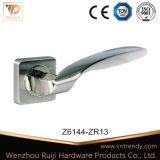 Цинкового сплава кухня двери ручки блокировки рычага селектора с Rosette (Z6144-ZR13)