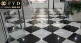 Плитка фарфора сплошного цвета 60*60 супер черная Polished Unglazed (FC6003)