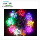 PVC colorido 100m luz de 800 diodos emissores de luz para a decoração do Natal