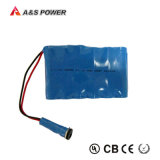 Li-ion rechargeable de lithium de 22.2V 2200mAh 18650 packs batterie