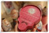 ロリポップのブリキの形の記憶の錫ボックス硬貨袋の宝石箱美しいプリント収納箱の女の子のギフト