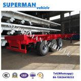 Aanhangwagen 3 van de Vrachtwagen van het Frame van de Container van het luchtkussen Semi As