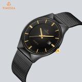 Heiße Verkaufs-Form-Quarz-Edelstahl-Uhr für Männer 72934