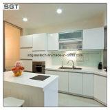 Baixo ferro ultra desobstruído/vidro laminado branco super para a cozinha Backsplashes