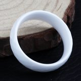 De hete Manier van de Juwelen van de Verkoop belt de Witte Groothandelsprijs van de Ringen van de Keramiek